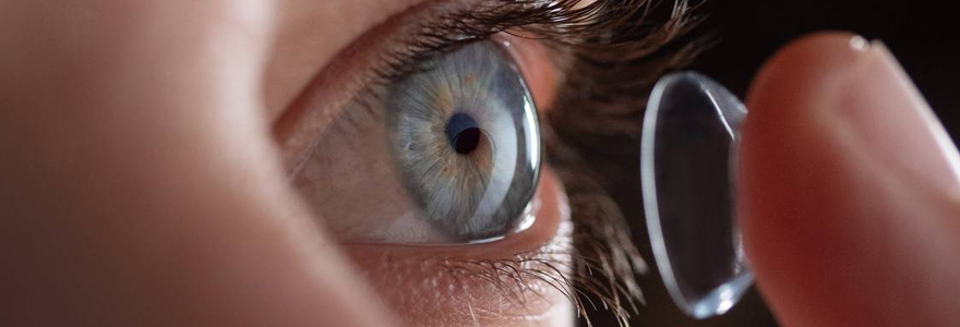 Adaptation des lentilles sclérales